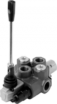 SD14/1(YG3)/1CP8L <br><b>DOUBLE ACTING SPRING RETURN A-B CLOSED CENTRE</b>
