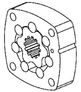 Eaton CharLynn 2,000 to 10,000 Series Hydraulic Geroler
