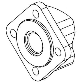 Eaton CharLynn Motor Mounting Flanges