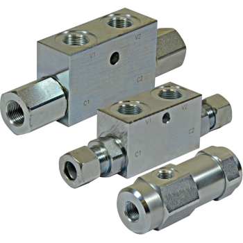 Single Pilot Operated Check Valves