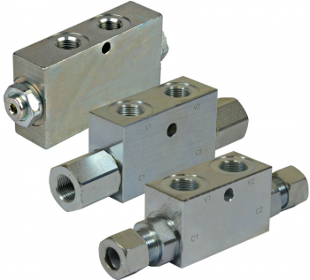 Dual Pilot Operated Check Valves