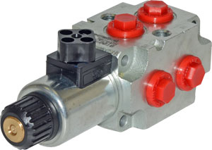 Solenoid Spool 6 Way Diverters