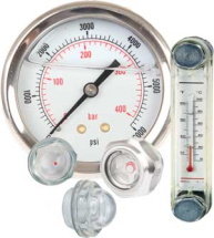 Gauges - Pressure,Level and Temp