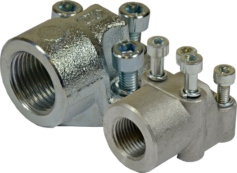 90 Degree Elbow Port Connectors