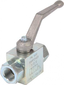 2-WAY BALL VALVE 1/2inch BSP WITH MOUNTING HOLES