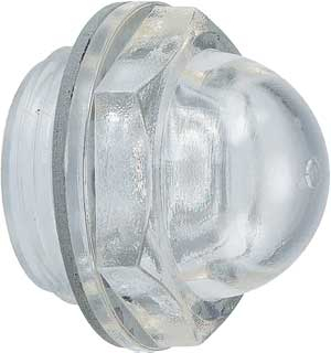 DOME SHAPED OIL LEVEL GLASS G 1/2inch