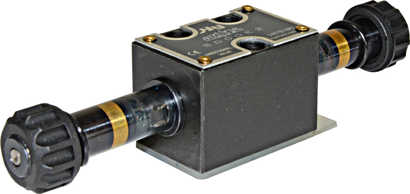 NG3 MICRO SOLENOID VALVE 4/3 P BLOCKED, A&B TO T