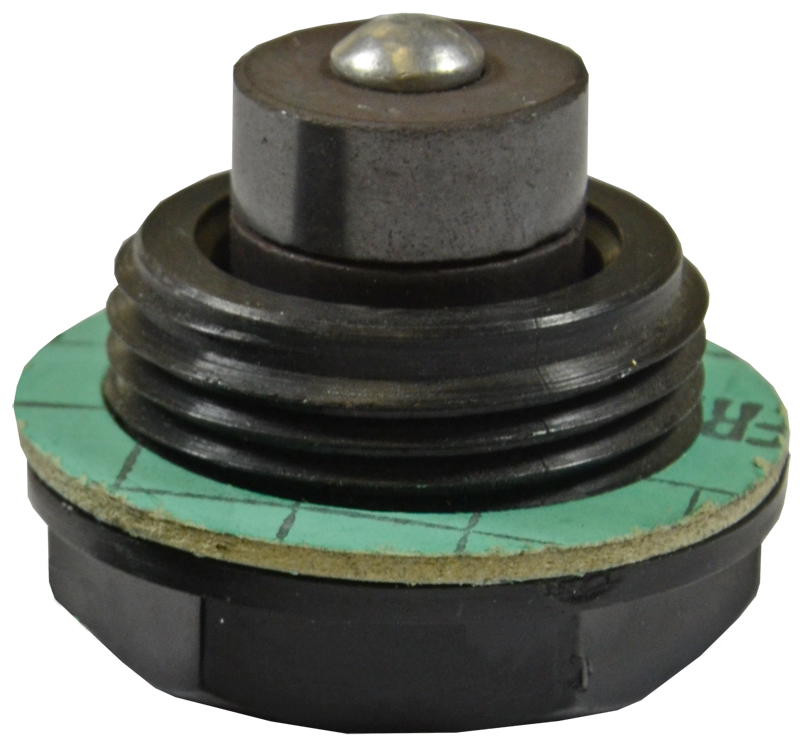 PLASTIC DRAIN PLUG WITH MAGNET G 1inch BSPP(M)